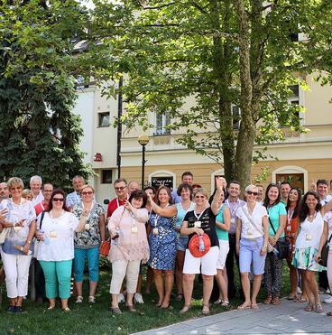 Csoportkép Székesfehérváron